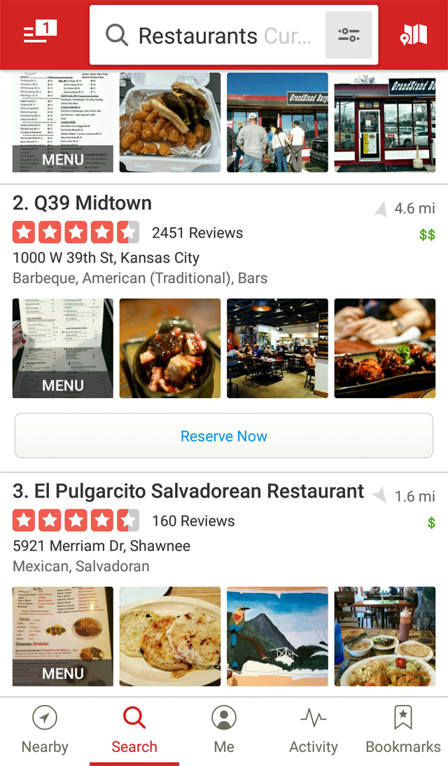 restaurant yelp optimization