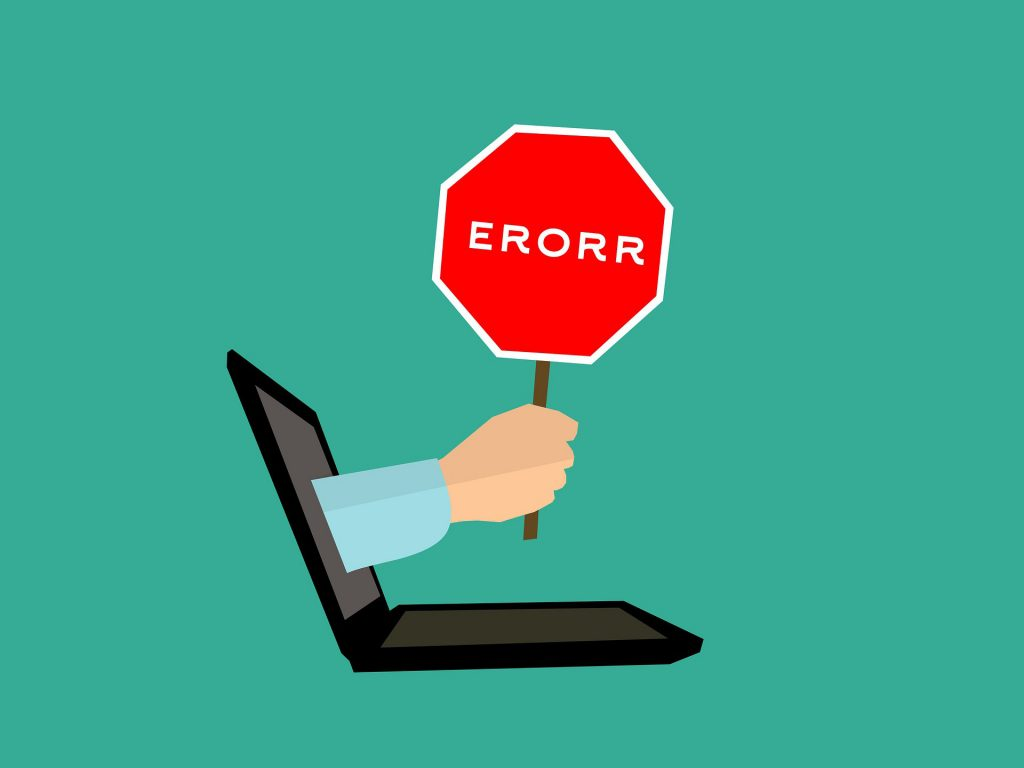 common web design mistakes small businesses make