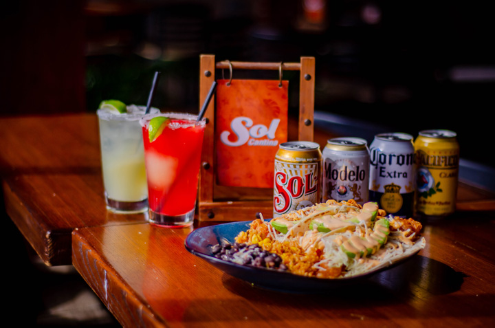 sol cantina food and drinks