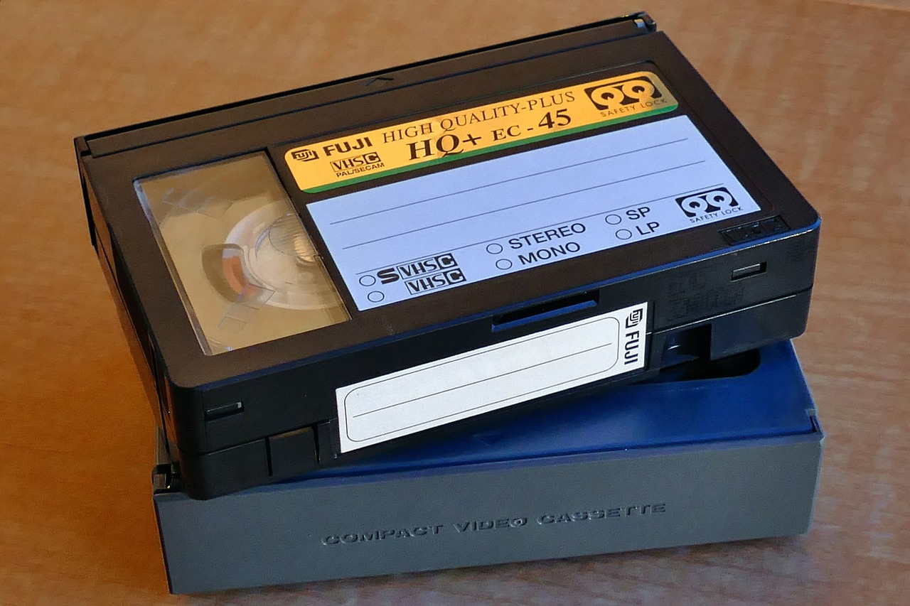old school technology tapes